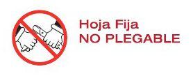 Hoja fija - No plegable