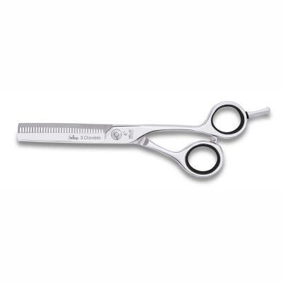 """Tijeras de peluquería para esculpir de 6"""" - 3 Claveles Silex 12624 - Cuchillalia"""