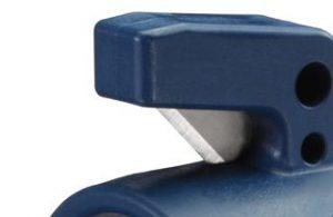 Detalle de la cuchilla del cúter anillo Martor 307.08 - Cuchillalia