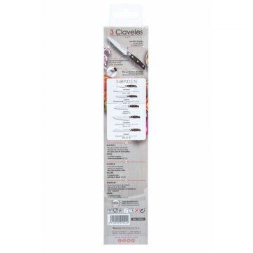 Estuche del cuchillo de cocina de 13 cm de hoja – 3 Claveles Norden 1042 – Cuchillalia