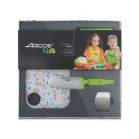 Kit de cuchillo para niños Arcos Kids verde - Cuchillalia