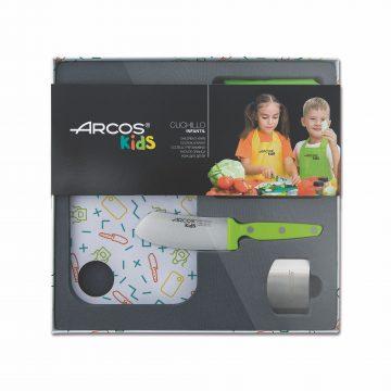 Kit de cuchillo para niños Arcos Kids verde – Cuchillalia