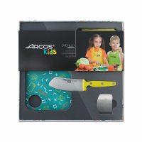 Kit de cuchillo para niños Arcos Kids amarillo - Cuchillalia