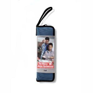 Kit cuchillo para niños KAI TMJ-1000 y protector de dedos. Estuche cerrado - Cuchillalia
