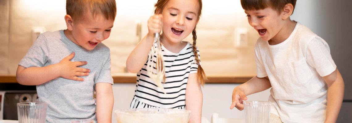 enseñar a cocinar