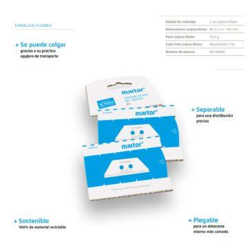 Hoja/Cuchilla de cerámica para cuter – Martor 60099C – Características – Cuchillalia