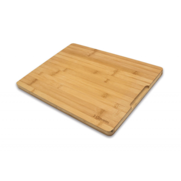 Tabla de madera de bambú de 40×30 cm – 3 Claveles 4666