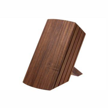 Taco o bloque de madera para cuchillos KAI Shun DM-0810 (vista trasera) – Cuchillalia