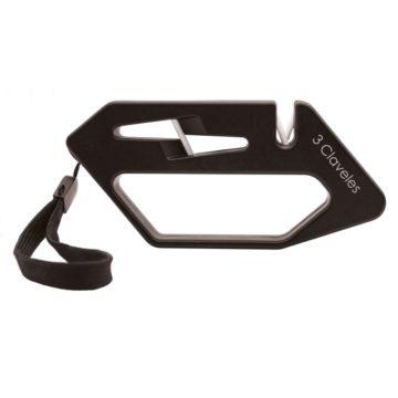 Afilador para cuchillos y tijeras con correa – 3 Claveles 9426 – Cuchillalia