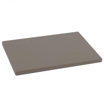 Tabla para cortar de color bronce de 33x23x1,5 cm de Metaltex fabricada en polietileno