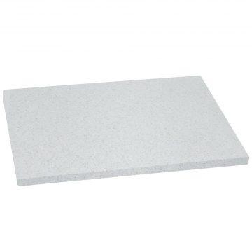 Tabla para cortar de color imitación granito de 38x28x1,5 cm de Metaltex fabricada en polietileno