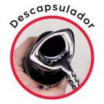 Descapsulador del sacacorchos 3 Claveles