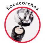 Detalle del sacacorchos 3 Claveles